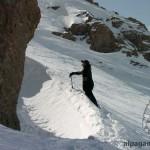 «В снежном кулуаре» В.СТЕПАНОВ