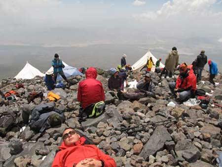 Второй лагерь 4200. Большой отчет о большой экпедиции (Арарат-2012)