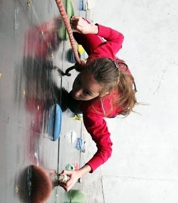 Осенние открытые личные соревнования в многоборье по скалолазанию