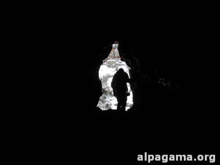 В найденной пещере