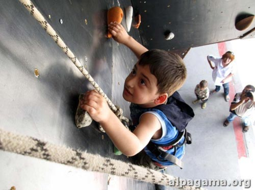 Фестиваль юных скалолазов