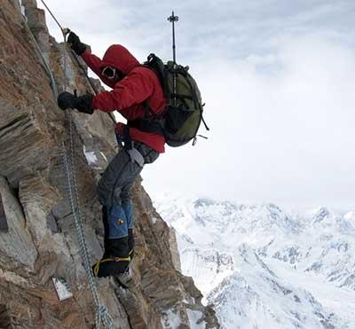 На пути к вершине. Национальный стяг на семитысячнике Тянь-Шаня