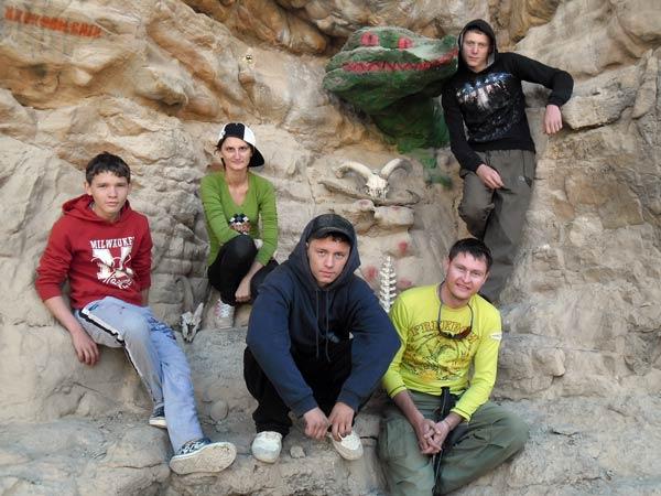Будем дома показывать, какие в ашхабадских горах крокодилы водятся