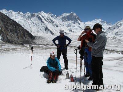 Прогулка по леднику Семеновского