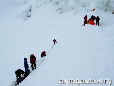Третий лагерь (5800 метров). Как мы оказались на вершине Хан-Тенгри