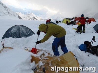 Реанимация палатки снежный барс. Вадим
