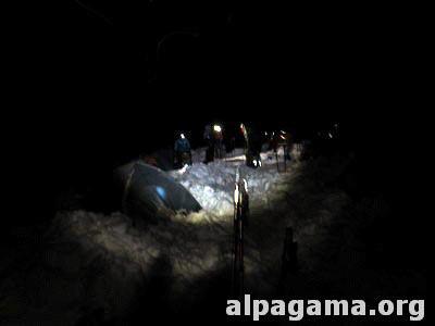 Ночной выход из Первого лагеря