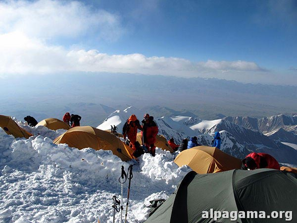 Третий лагерь. Пик Ленина. Успех туркменского высотного альпинизма