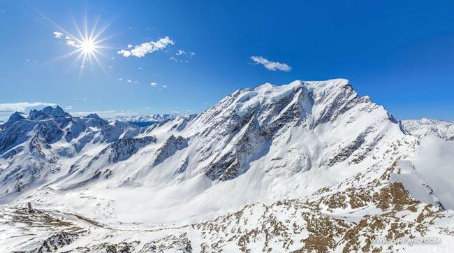 Вершина Донгуз-Орун (4454м)