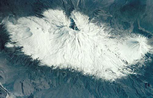 Спутниковый снимок горы Арарат