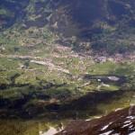 Вид на долину Гриндельвальд с хижины Миттелеги