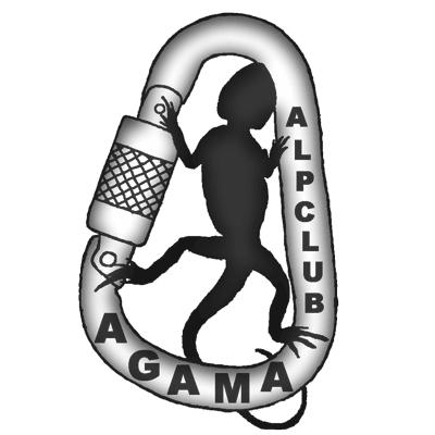 Логотип альпклуба АГАМА