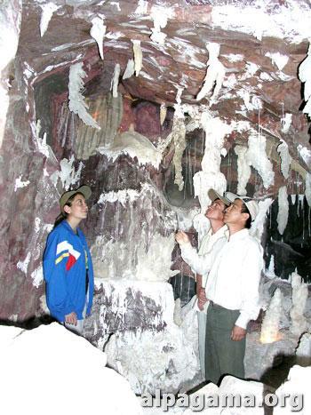 Макет пещеры в музее Койтендагского заповедника