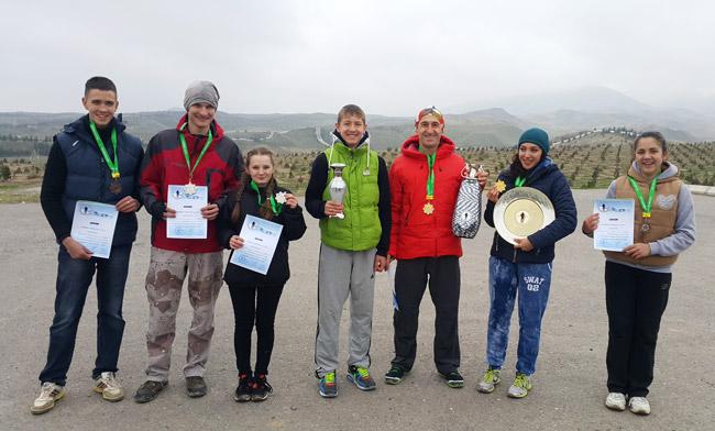 Победители Кубка Туркменистана по скайраннингу 2015