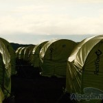 В базовом лагере