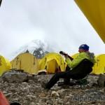На отдыхе в Первом лагере