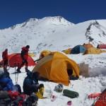 В Третьем лагере вершина Раздельная