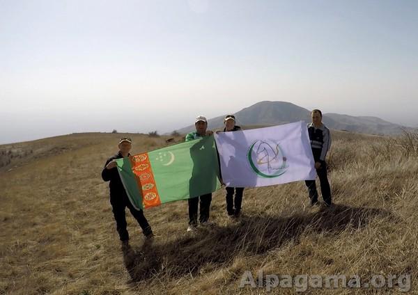 На вершине горы Хасардаг