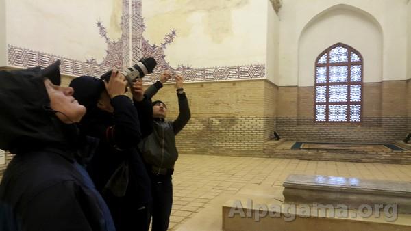 В мавзолее Султана Санджара
