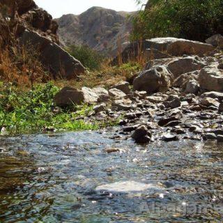исток реки Гекдере - Чулинка в Копетдаге. фото: Олег Винокуров