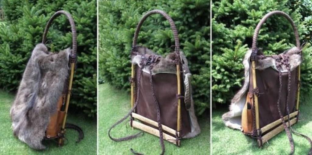 реконструкция рюкзака Эци. История рюкзака