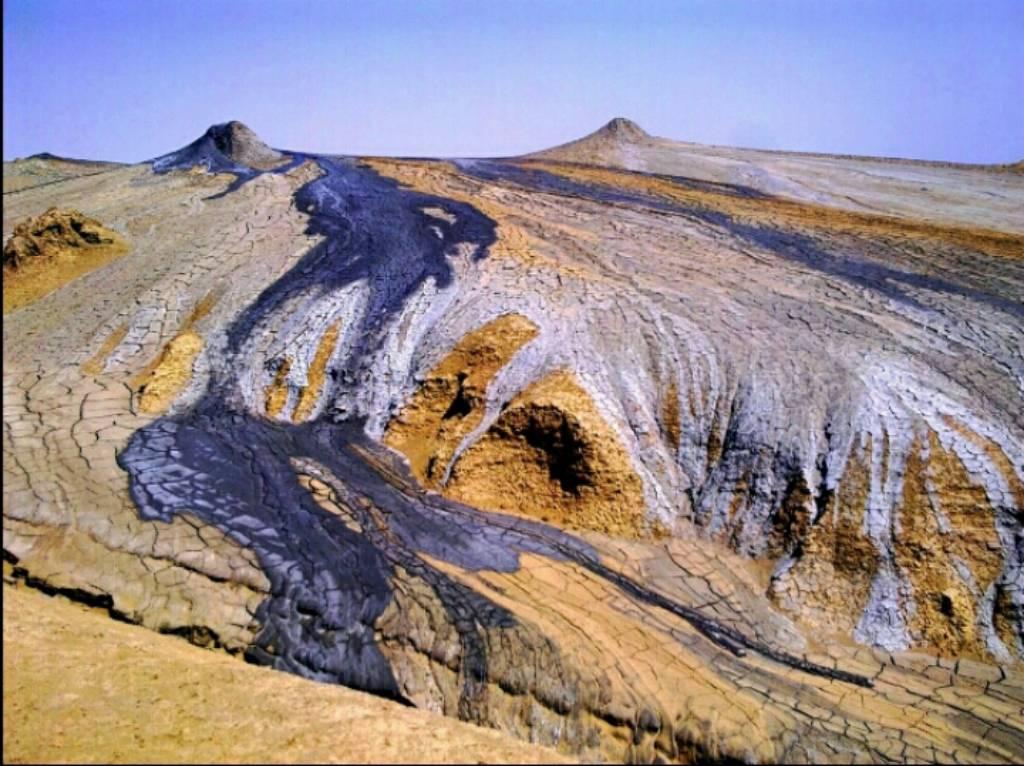 Грязевой вулкан Акпатлавук. Балканский велаят