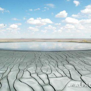 Грязевой вулкан Гекпатлавук, фото Владимира Комарова