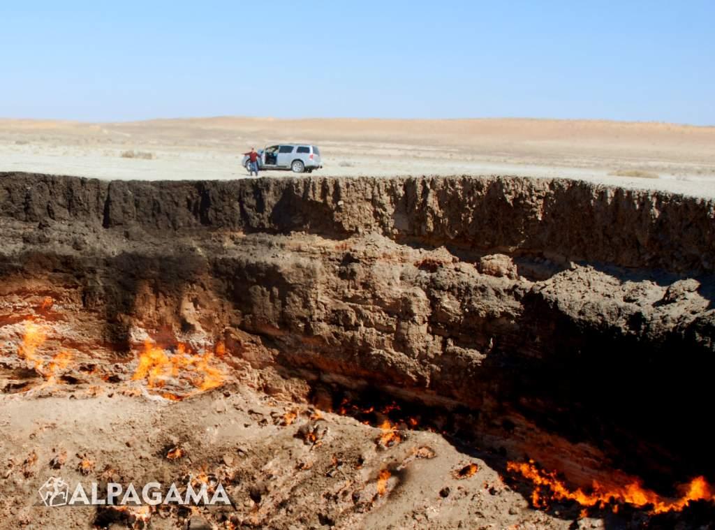 Дарваза. Огненный провал. Фото: В.Комаров