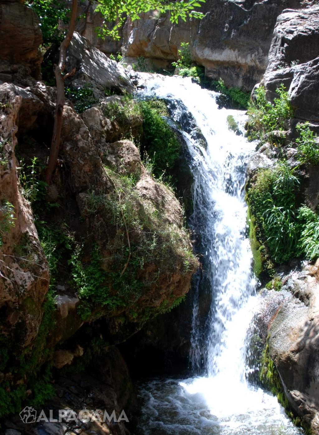 Водопад Суммул