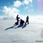 «На снежном плато (гора Айрыбаба)» Д.ВИНОКУРОВ