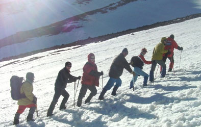 Альпинисты Туркменистана на Демавенде