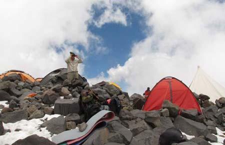Вновь во Втором лагере. Большой отчет о большой экпедиции (Арарат-2012)
