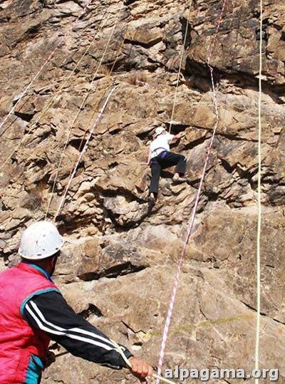 Чемпионат Туркменистана по спортивному скалолазанию