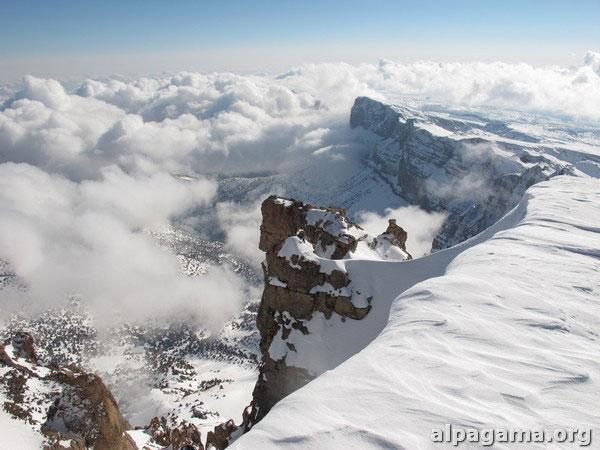 «Cнежная вершина (гора Айрыбаба)» О.ЛОСКАРЕВА