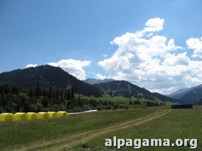 Лагерь Каркара (Кыргызстан)