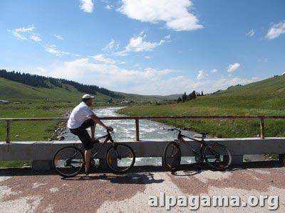 Велосипедная прогулка. Вадим