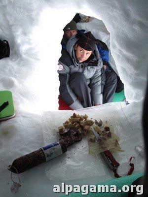 Ужин в двухэтажной пещере. Карен, Вадим