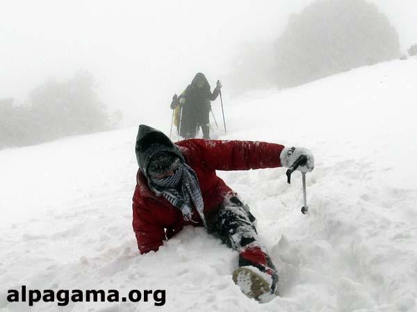 Передвижение по снегу в горах