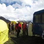 Приехали. Базовый лагерь Ачик-Таш (3600м)