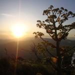 II место «Рассвет на Мезетли. (гора Мезетли)» Елена КУРБАНОВА