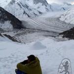 На леднике над ледниками ;)