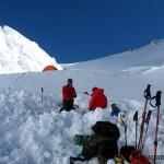 Второй лагерь (5300м).