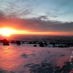 «Закат и горы (Койтендаг)» Дарья ЧИКАИДЗЕ