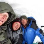 В снежной пещере... (Дима, Карен, Вадим)