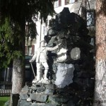 Памятник покорителю Маттерхорна