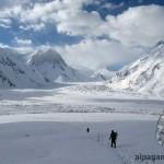 По леднику Семеновского