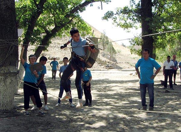 В Гекдере состоялся второй в сезоне слет юных туристов