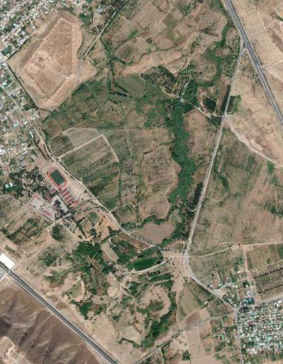 Янбаш из космоса (Спутниковые снимки от Google)