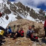Выход на Пик Юхина (5100м)