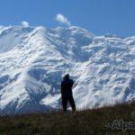 Ковер из трав и вечные снега (фото: Дмитрий Винокуров)